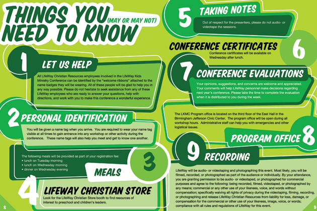 Kids Conference - Things to Know