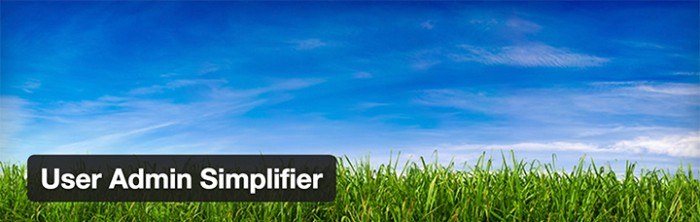 User Admin Simplifier