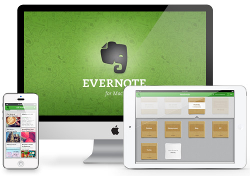 Evernote on Multiple Devices